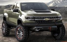 Ngỡ ngàng trước vẻ đẹp của bán tải off-road Chevrolet Colorado ZR2