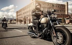Bobber Harley-Davidson Fat Bob 2015 trình làng