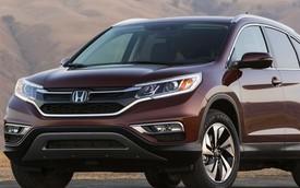 Honda CR-V 2015 có mặt trên thị trường vào 1/10
