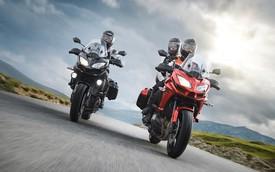 Intermot 2014: Xe đường trường Kawasaki Versys 1000 2015 ra mắt