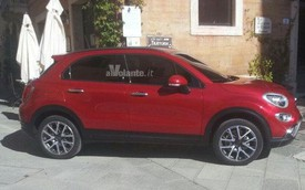 Crossover cỡ nhỏ Fiat 500X lộ diện