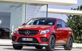 Mercedes-Benz GLE Coupe - Đối thủ của BMW X6 chính thức trình làng