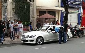 Xuất hiện loạt ảnh tại hiện trường xe của Thanh Hằng gây tai nạn