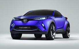 Toyota C-HR - Đối thủ của Honda Vezel lộ thiết kế