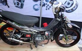 Dàn xe máy độ công suất lớn tại Sài Gòn