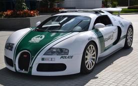Cảnh sát Dubai lại khoe dàn xe đắt nhất thế giới