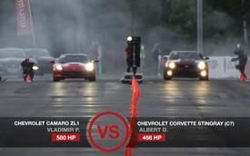 """Chevrolet Corvette Stingray """"đấu"""" Camaro ZL1, BMW M6 và F-Type R"""