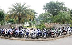 Gần 50 chiếc Exciter hội quân tại Sài Gòn