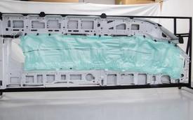 Ford Transit 2015 trang bị túi khí dài 4,6 mét