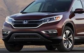 Honda CR-V 2015 bất ngờ lộ diện