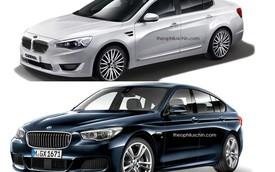 Xe BMW và Kia sẽ thế nào nếu đổi lưới tản nhiệt cho nhau?