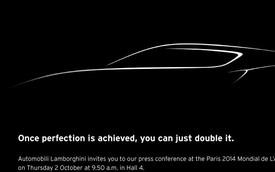 Lamborghini hé lộ siêu xe mới trước thềm Paris Motor Show 2014