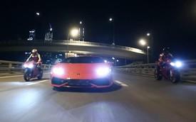 Lamborghini Huracan so kè với Ducati 1199 Panigale và BMW S1000RR
