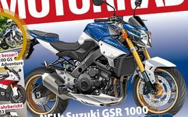 Suzuki GSR1000 - Naked bike 1000 phân khối sắp ra mắt