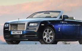 Rolls-Royce Wraith Drophead Coupe sẽ ra mắt vào năm 2016
