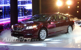 Honda Accord mới ra mắt thị trường Việt với giá 1,47 tỉ đồng