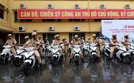 CSGT và CSCĐ Hà Nội được trang bị thêm xe mới