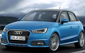 Audi A1 bản cải tiến trình làng
