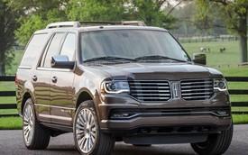 """SUV hạng sang cỡ lớn Lincoln Navigator 2015 """"ăn xăng"""" thế nào?"""