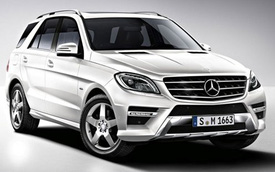 Mercedes-Benz ML-Class 2015 có 2 động cơ mới