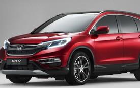 Honda CR-V 2015 có thêm hộp số tự động 9 cấp mới
