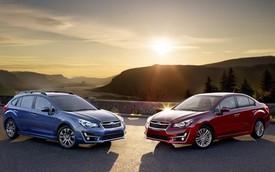 Subaru Impreza 2015: Trang bị hiện đại hơn