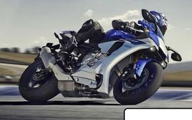 Siêu môtô Yamaha YZF-R1 thế hệ mới lộ diện