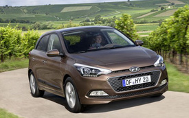 Hyundai i20 phiên bản châu Âu trình làng