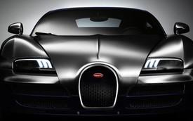 Siêu xe Bugatti huyền thoại thứ 6 sơn màu bát quái