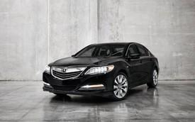 Xe sang Acura RLX Sport Hybrid SH-AWD có giá 59.950 USD