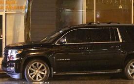 Xe SUV nổ hai lốp, Angelina Jolie suýt gặp nạn