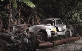 """Siêu xe """"cửa cánh chim"""" Mercedes-Benz 300SL bị bỏ rơi"""