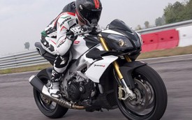 Siêu môtô Aprilia Tuono V4 R 2015 mạnh mẽ hơn