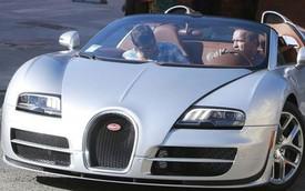 """""""Kẻ hủy diệt"""" Arnold Schwarzenegger lái siêu xe Bugatti Veyron"""
