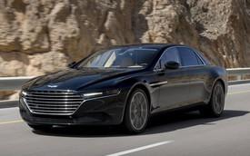 Xe siêu sang Aston Martin Lagonda lộ diện hoàn toàn