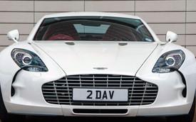 Chiêm ngưỡng siêu xe Aston Martin One-77 cuối cùng xuất xưởng