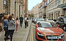 Không ai có thể rời mắt khỏi siêu xe Audi R8 phong cách Iron Man