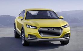 Audi TT sẽ có phiên bản crossover hoàn toàn mới