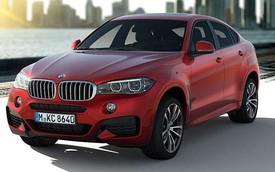BMW X6 2015 thêm thể thao với gói phụ kiện M Sport