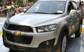 Chevrolet Captiva 2015 có giá 30.800 USD