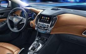 Hé lộ nội thất cao cấp của Chevrolet Cruze 2016