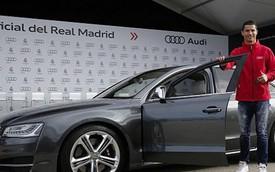 Dàn sao Real Madrid được tặng xe Audi, Cristiano Ronaldo chọn S8