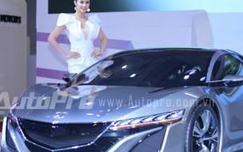 Dàn sao Việt tham gia triển lãm Vietnam Motor Show 2014
