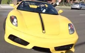 Lý do quay cảnh drift siêu xe Ferrari thực sự nguy hiểm