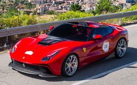 Ferrari F12 TRS - Siêu xe mở mui độc nhất vô nhị mới