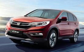 Honda CR-V 2015 chính thức ra mắt lục địa già