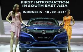 Cận cảnh xe crossover giá rẻ Honda HR-V mới đến Đông Nam Á