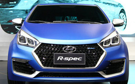 Hyundai HB20 R-Spec – Ôtô bình dân sơn màu siêu xe