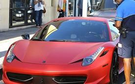 Đỗ siêu xe Ferrari sai chỗ, Justin Bieber bị phạt 200 USD