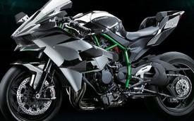 Siêu môtô Kawasaki Ninja H2 hoàn toàn mới chính thức lộ diện